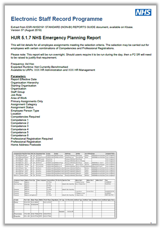 Emergency Planning Guidance v1