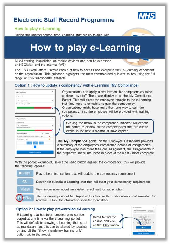 How to play e Learning v1