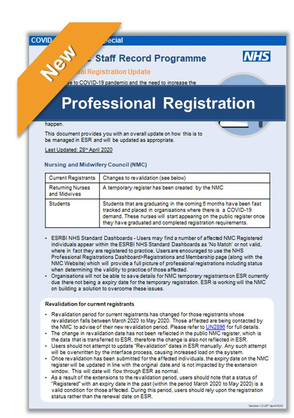 Professional Registration v1